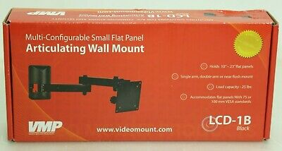 VMP LCD-1B Multi Configurable Small Flat Panel Articulating Wall Mount Flat-panel-articulating Wall Mount