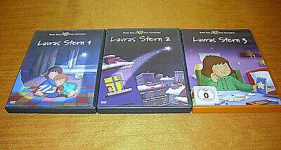 Lauras Stern DVD´s 1+2 von 2003 + DVD 3 von 2007 Warner