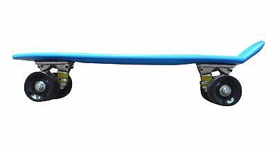 Skate Board Blue Skatboard New Assemebled Adult Kids Youth Durable Plastic Nylon