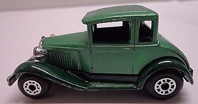 Diecast Matchbox No. 73 Model A Ford Lesney Prod. England 1979  FREE SHIPPING!!!
