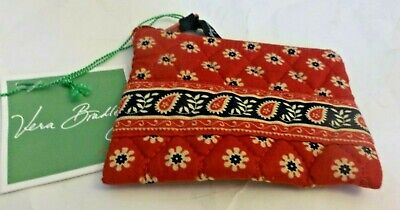 Vera Bradley Americana Red Coin Purse New With Tags Free Shipping USA