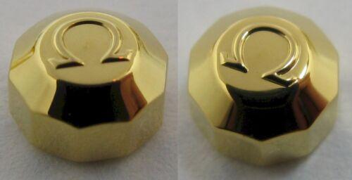 Omega crown 069SX42019 for gold plated vintage models * diameter 5 mm *