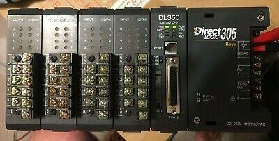 Automation Koyo Direct Logic 305 D3-350 D3-05b D3-08ta-2 D3-08na-1 Plc Trainer