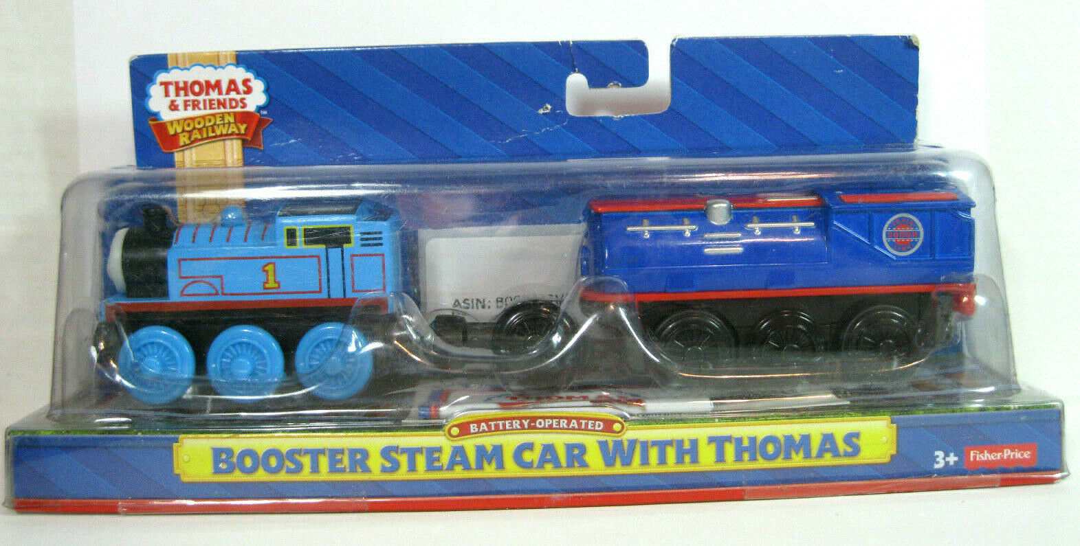 Thomas & Friends Fisher-Price Wooden Railway, Battery-Operat