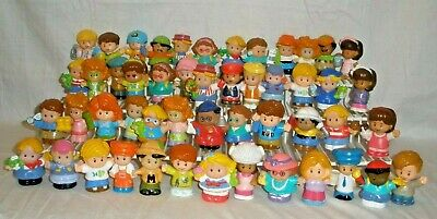 Fisher Price Little People (Lot of 50) figures people boys girls CAKE TOPPERS