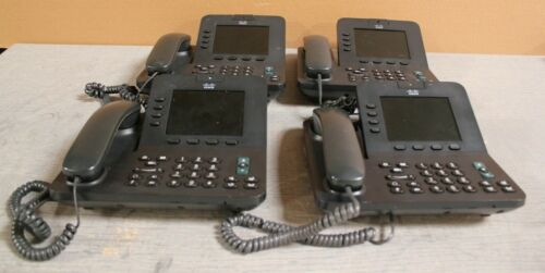 Lot Of 4 Cisco Cp-8945 Unified Phone  #1 @h16