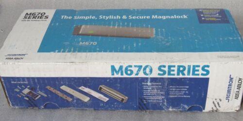 Securitron ASSA ABLOY M670-335 Magnalock Black 1100lbs Holding Force [CTNO]