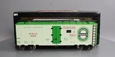 Aristo-Craft 46205 G Scale Heineken Beer Reefer Car EX/Box