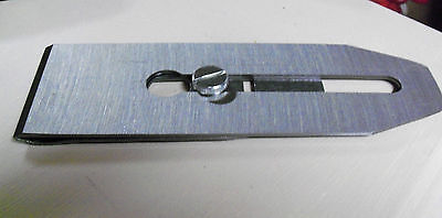 Stanley Double Plane Iron 4 And 5 Smooth Plane Iron Blade 2 Wide W/cap Screw