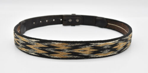 """Handmade Horse Hair Hitched Belt 37"""" Length, 1.25"""" Wide"""