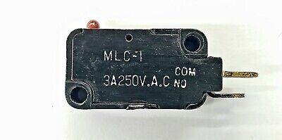 Mulon Mlc-1 Spst- On-off Push Button Plunger Micro Switch 3a 250 V Ac