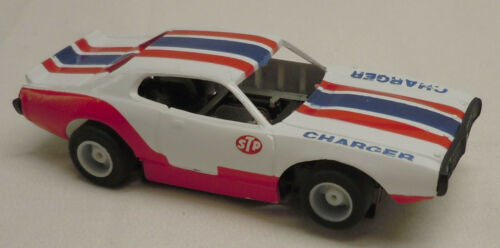 Vintage Tyco HP7 Dodge Charger HO Slot Car #6948