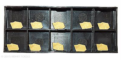 Rishet Tools Gtn-2 C5 Multi Layer Tin Coated Carbide Inserts 10 Pcs
