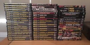 55 UFC DVD'S  Ultimate Fighting Championship