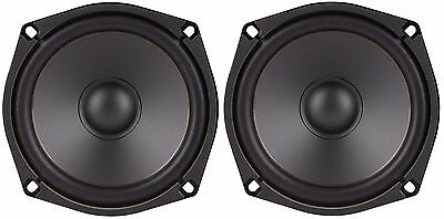 """NEW PAIR 5-1/4"""" / 5.25"""" Mini Subwoofer Woofer Speaker High Definition 8 Ohm 200W"""