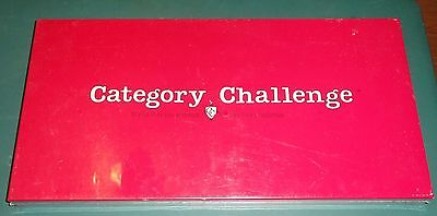 CATEGORY CHALLENGE BOARD GAME LIVING TRIVIA FACTORY SEAL 1984 PAYTON PLACE
