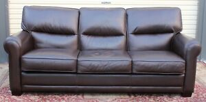 FREE DELIVERY-Genuine Leather Lounge MORAN SOFA