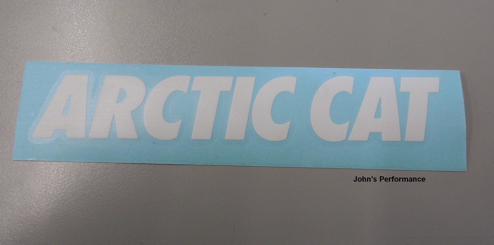 "White Arctic Cat Sticker Decal 12"" 4299-739"
