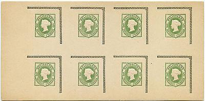 HELIGOLAND 1892 STATIONERY GOLDNER PRINTING 8 IMPRESSIONS PROOFS