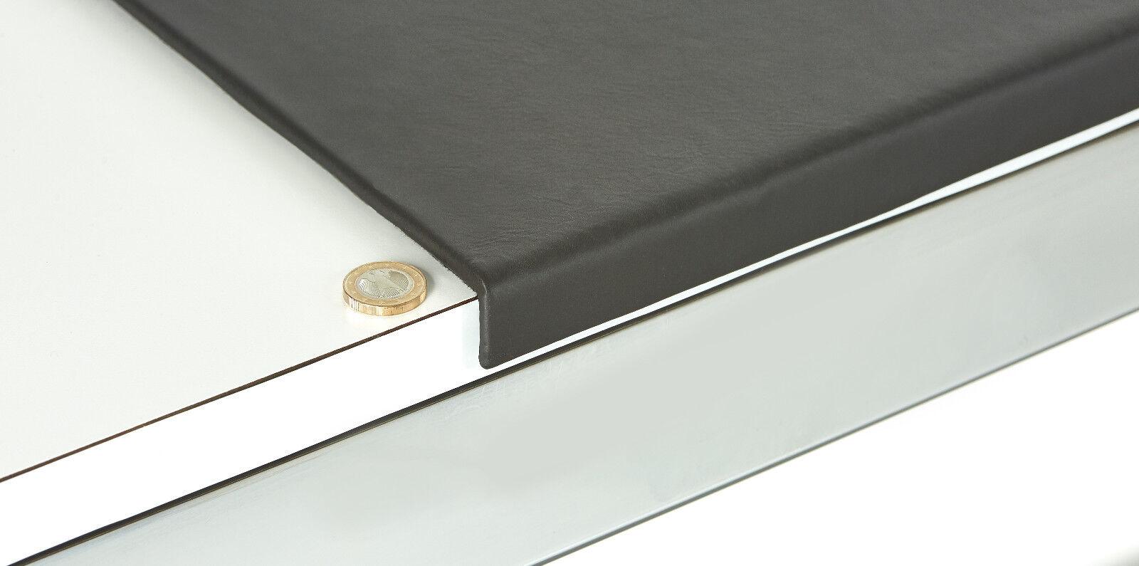 luxentury schreibtischunterlage leder schwarz mit kantenschutz 88x59 cm eur 299 00 picclick de. Black Bedroom Furniture Sets. Home Design Ideas