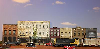 #700 HO scale MAIN STREET set #1   6 BUILDINGS  *FREE SHIPPING*