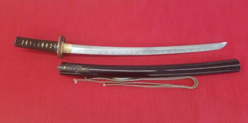 Japanese Sword Wakizashi Circa early Shintō 1650
