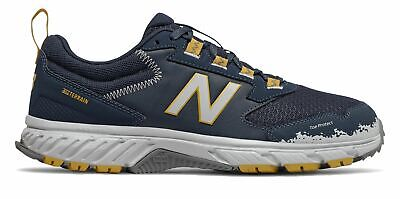 New Balance Men's 510v5 Trail Shoes Navy with Yellow