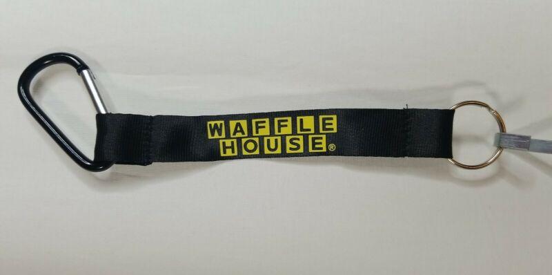 Waffle House Key Chain Lanyard Black