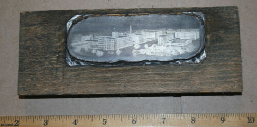 VERY early MC LILLEY company letterhead PRINTING PLATE block