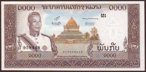 LAO / LAOS  1000 Kip  ND (1963)    Gem UNC