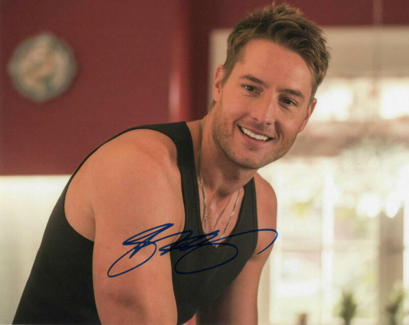 JUSTIN HARTLEY SIGNED AUTOGRAPH 8X10 PHOTO - KEVIN THIS IS US, SMALLVILLE STUD