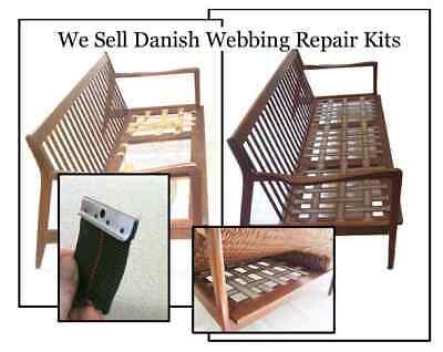 DIY Danish Modern Chair & Furniture Webbing Repair Kit
