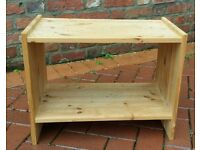Small wooden table, could be used as a coffee table