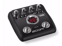 Zoom g2 multi fx pedal
