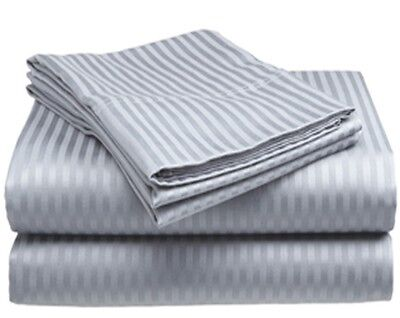 "300 Thread Count Sheet Set"" 1 Flat Sheet, 1 Fitted Sheet, 2 Pillow Cases- Cotton on Rummage"