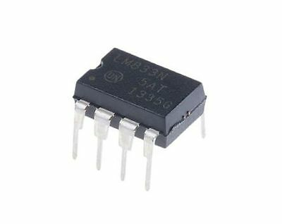 5Pcs On Semiconductor Lm833ng Lm833   Dual Operational Amplifier   New Ic