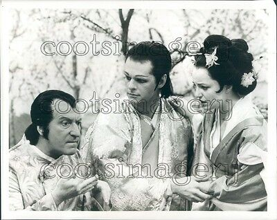 1984 Clive Revill John Stewart K Flowers Mikado Gilbert Sullivan TV Press Photo