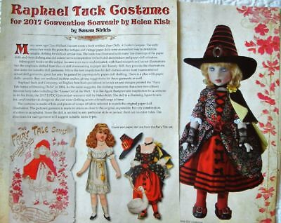"Uncut Pattern for Tuck Fairy Tale Costume fits Kish Ma Petite & Other 10"" Dolls](Costume For Fairy)"