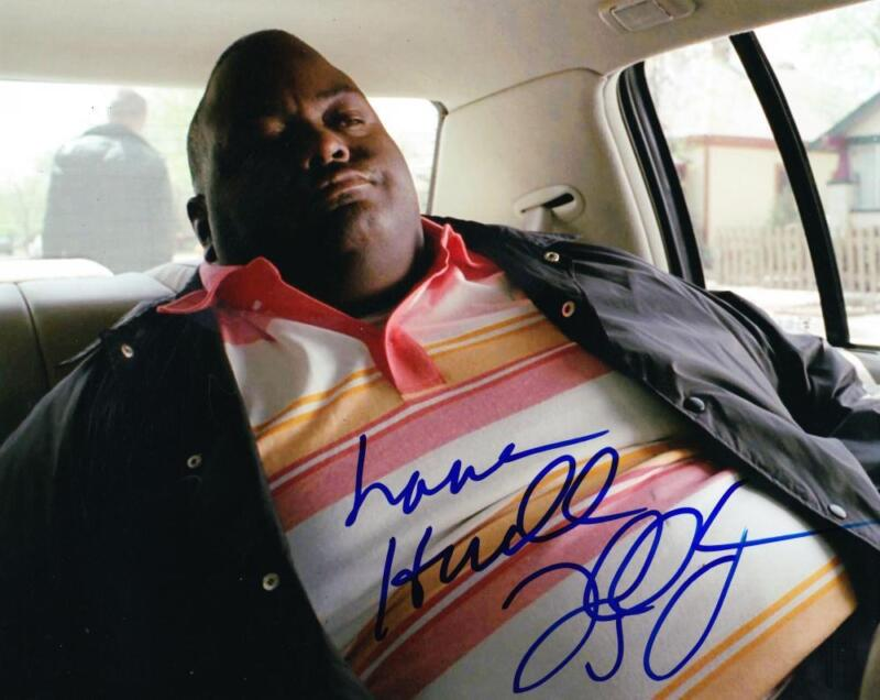 LAVELL CRAWFORD SIGNED 8X10 PHOTO BREAKING BAD HUELL AUTOGRAPH INSCRIPTION COA A