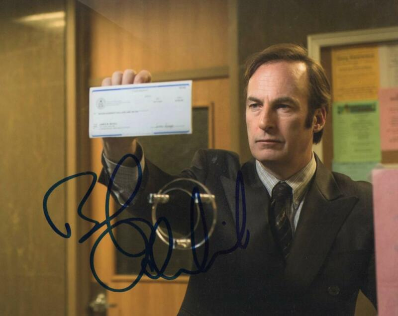 BOB ODENKIRK SIGNED 8X10 PHOTO AUTHENTIC AUTOGRAPH BREAKING BETTER CALL SAUL J