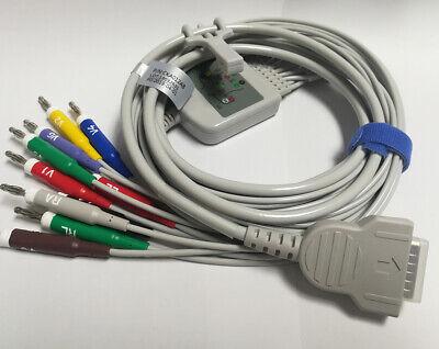 Ge Marquette Ecg Ekg Cable 4.0 10-leads Compatible Mac12001200st