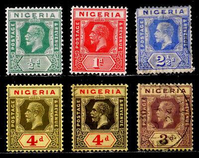 NIGERIA, BRITISH: CLASSIC ERA STAMP COLLECTION