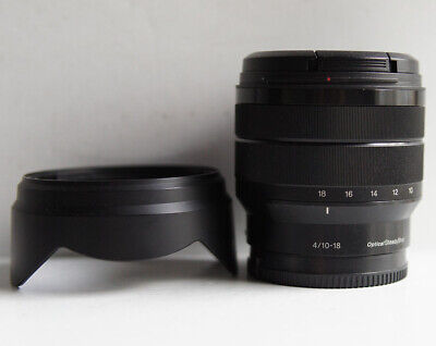 Sony E 10-18mm f/4 OSS Lens for E mount