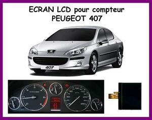 afficheur lcd centrale pour compteur odb peugeot 407 407 sw 407 coup ebay. Black Bedroom Furniture Sets. Home Design Ideas