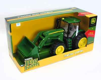 New Big Farm Series 6210R Tractor With Loader  Lights And Sounds  Tbek46074