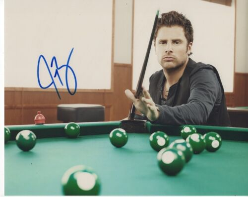 James Roday Rodriguez Psych Autographed Signed 8x10 Photo COA 2020-2