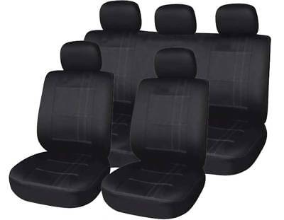 Audi 5080100a2a3a4a6 Front  Rear Car Seat Covers Universal Fit