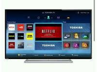 "TOSHIBA 42 "" LED SMART HD TV FREEVIEW WIFI NETFLIX ETC"
