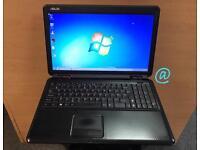 Asus Laptop , 160GB, 2GB Ram, Windows 7, Microsoft office, Very Good Condition, Wifi, Antivirus