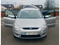 FORD S-MAX 2008 TDCI DIESEL 7 SEATER FULL SERVICE HISTORY 6 SPEED GEAR QUICK SALE £3250